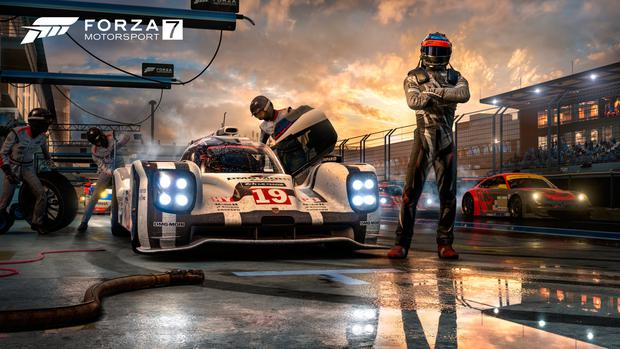 Forza 7 is a great showcase for the power of 4K and HDR