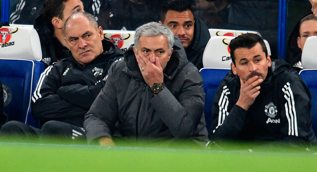 Manchester United's manager Jose Mourinho. Photo: Getty Images
