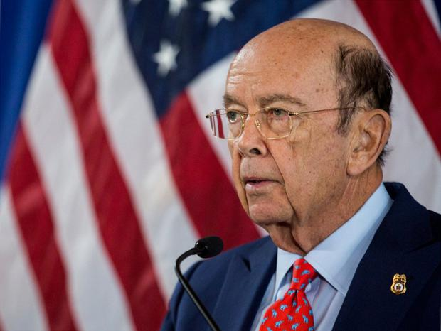 Donald Trump's commerce secretary Wilbur Ross has shares in a firm that ships oil and gas for a Russian energy company. Photo: Bloomberg