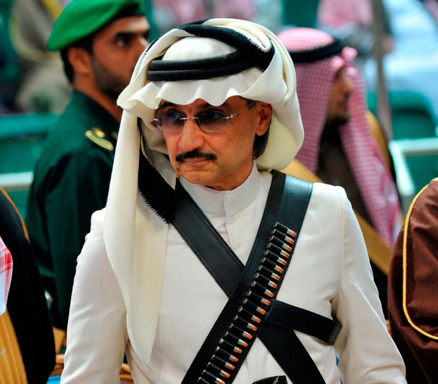 Prince Alwaleed bin Talal. Photo: Getty Images