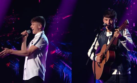 Sean and Conor Price sing Sia's Cheap Thrills on The X Factor