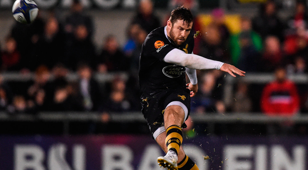 Elliot Daly injured his knee on Champions Cup duty for Wasps and was expected to miss the Tests against Argentina and Australia. Photo by David Fitzgerald/Sportsfile