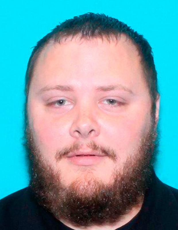Gunman Devin Kelley killed himself after the church attack. Photo: Texas Department of Public Safety via AP