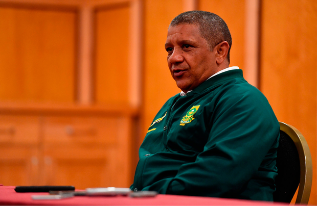 Head coach Allister Coetzee. Photo by Brendan Moran/Sportsfile