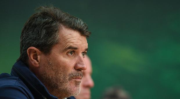 Republic of Ireland assistant manager Roy Keane during a Republic of Ireland press conference at FAI National Training Centre in Abbotstown, Dublin. (Photo By Eóin Noonan/Sportsfile via Getty Images)