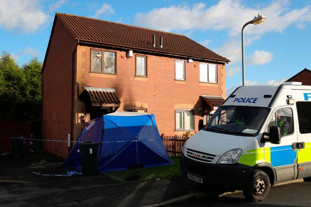 Anthony Nicholls (56) has died in hospital five days after a firework was set off inside his home in Birmingham Photo: Aaron Chown/PA Wire