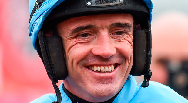 Jockey Ruby Walsh steered Chateau Conti to victory in the Fairyhouse Hurdle yesterday. Photo: Seb Daly/Sportsfile