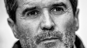 Roy Keane in pensive mood during yesterday's press conference Photo: Eóin Noonan/Sportsfile