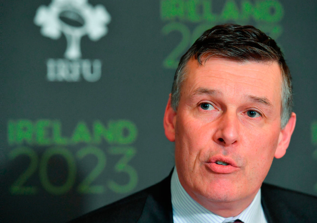 Philip Browne doesn't mince his words in his letter to the World Cup Rugby Council Photo: Brendan Moran/Sportsfile