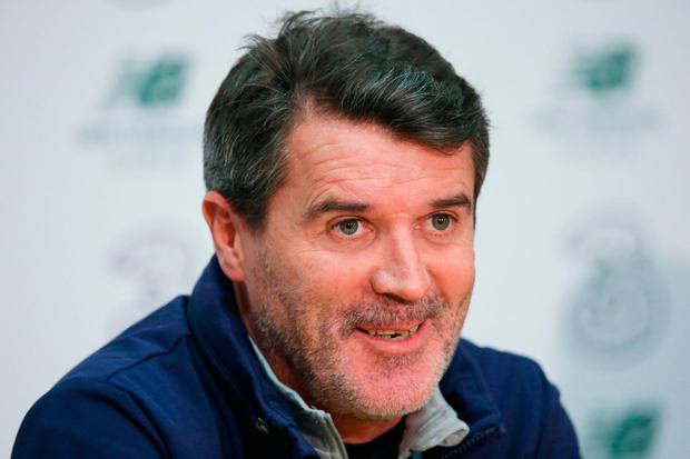 Roy Keane shuts down Danish journalist's Schmeichel question