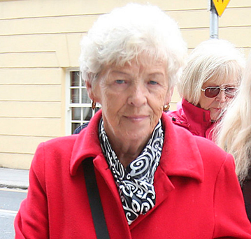Christine Keegan, who lost two daughters in the Stardust fire. Picture: Tom Burke