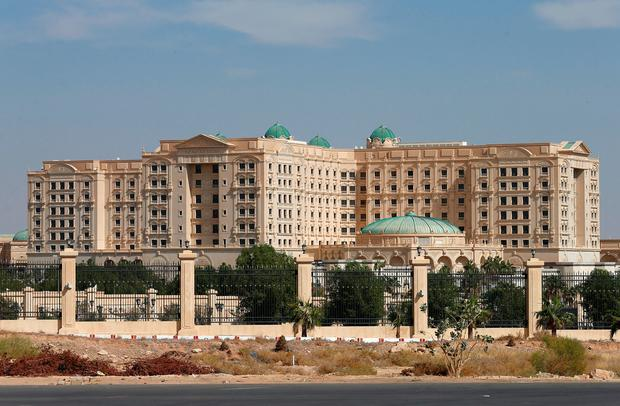 The Ritz-Carlton hotel in the diplomatic quarter of Riyadh Photo: REUTERS/Faisal Al Nasser