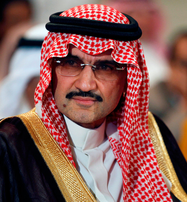 Saudi billionaire Prince AlWaleed bin Talal Photo: REUTERS/Hamad I Mohammed/File Photo
