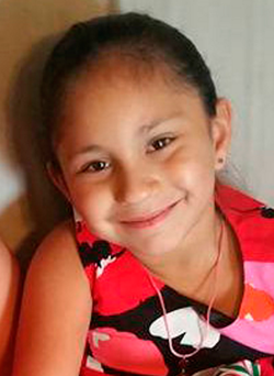 Emily Garza (7), one of the 26 victims of the shooting Photo: Social media/Handout via REUTERS