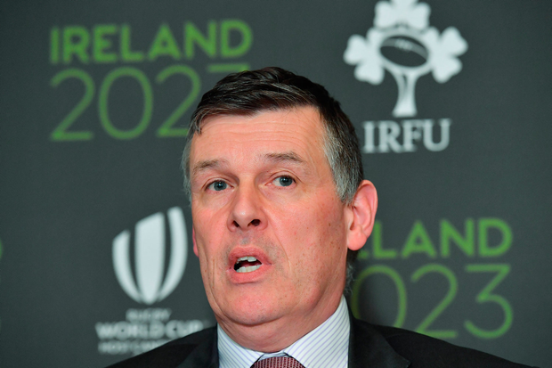 IRFU chief Philip Browne sent letter to World Rugby. Picture: Sportsfile