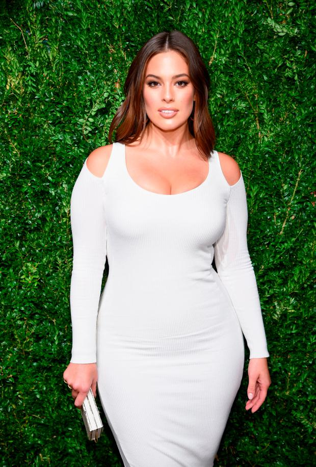 Ashley Graham attends the 14th Annual CFDA/Vogue Fashion Fund Awards at Weylin B. Seymour's on November 6, 2017 in the Brooklyn borough of New York City, New York. (Photo by Dimitrios Kambouris/Getty Images)