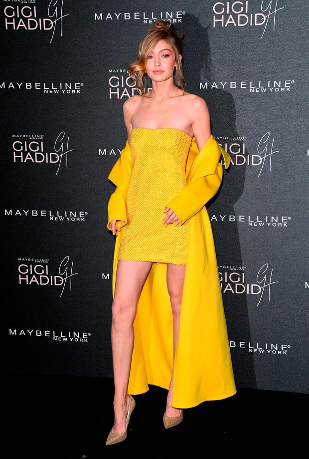 Gigi Hadid attends the Gigi Hadid X Maybelline party held at