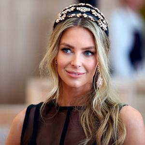Jennifer Hawkins attends the MYER Marquee on Melbourne Cup Day at Flemington Racecourse on November 7, 2017 in Melbourne, Australia. (Photo by Scott Barbour/Getty Images)