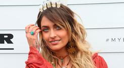Paris Jackson poses at the Myer Marquee on Emirates Melbourne Cup Day at Flemington Racecourse on November 7, 2017 in Melbourne, Australia. (Photo by Graham Denholm/Getty Images for the VRC)