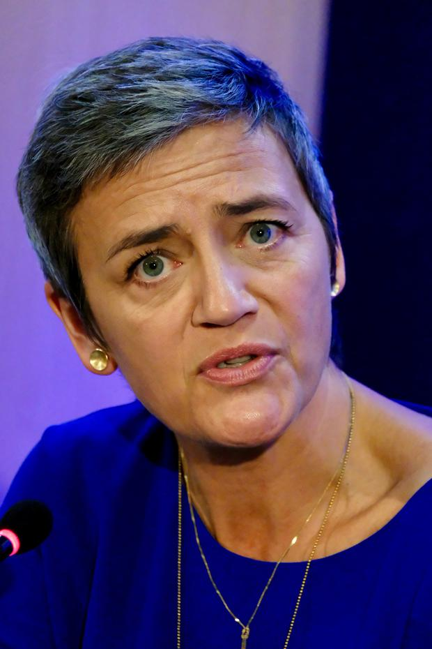 European Commissioner for Competition, Margrethe Vestager