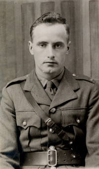 Commandant Art Magennis, who spent 50 years searching for the body of Trooper Patrick Mullins, who has been missing in action in the Congo since 1961