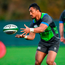 Bundee Aki during Ireland rugby squad training at Carton House
