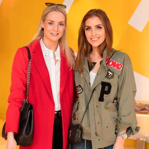 Judy Gilroy & Tara Anderson at the preview of the Penneys spring summer 2018 collection at Primark Head Office, Dublin. Picture: Anthony Woods