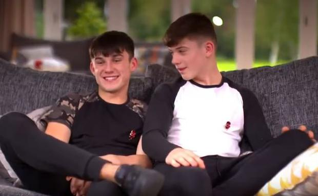 Sean and Conor Price. PIC: ITV