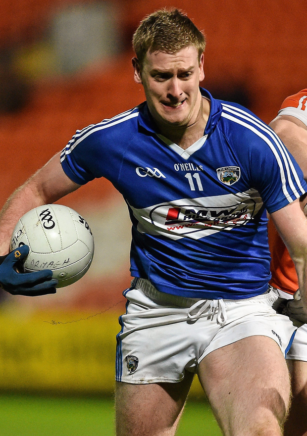 Donie Kingston will be unavailable for the Laois side. Photo: Oliver McVeigh/Sportsfile