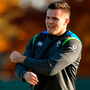 Jacob Stockdale during Ireland rugby squad training at Carton House. Photo: Brendan Moran/Sportsfile