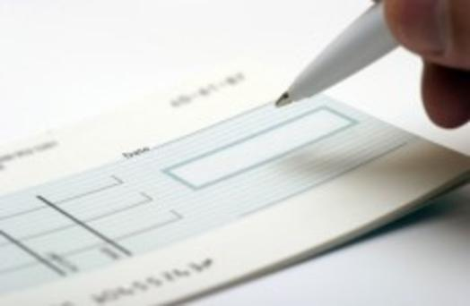 'Permanent TSB bank is introducing a new fee of 20c for each cheque' (stock photo)