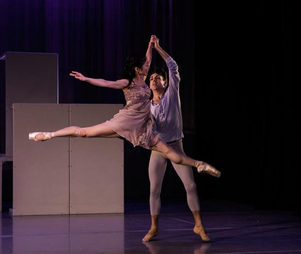 Cupid's wings: Ryoko Yagyu and Vincenzo di Primo in the lead roles. Photo: Declan English