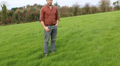 Clifford Richardson closed his first fields in mid-September. These fields will be available for grazing after lambing in mid-February