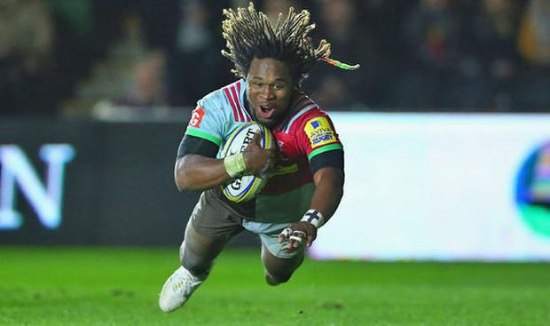 Marland Yarde left Harlequins for the Sale Sharks