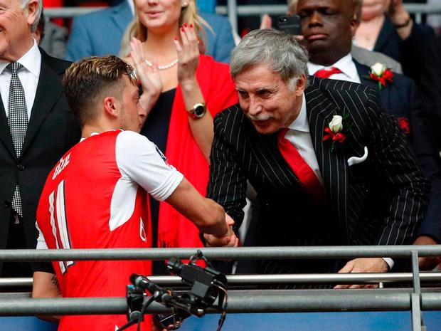 Arsenal's Stan Kroenke has faced a fan backlash since buying a majority share of the club. Getty