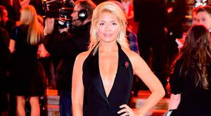 Holly Willoughby attending the ITV Gala held at the London Palladium