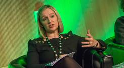 Speaking at the 'Shaping the Vision for Ireland's Agri-Food Industry 2030' conference organised by Ceres, a new women in agri-business network, in the Convention Centre, Dublin today, Lucinda Creighton of Vulcan Consulting. Picture: Pat Moore