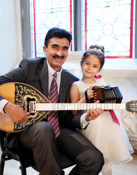 Syf Khan a virtuoso bouzouki and oud player originally from Syria