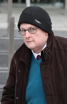 John O'Donoghue (58), with an address at Leinster Square, Rathmines, pleaded guilty earlier this year to a single count of possessing the pornographic material at his former home Pic Collins Courts