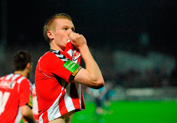 James McClean was on the brink of leaving his beloved Derry City for Lincoln. Photo: Sportsfile