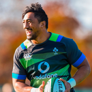 Aki qualifies to play for Joe Schmidt's side after spending three impressive seasons at Connacht, where he has become a leading light for the western province. Photo: Sportsfile