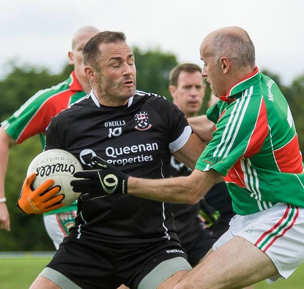 Eamonn O'Hara, here in action earlier in the campign, will line out for Sligo against Mayo in All-Ireland Masters final in Ballymote today