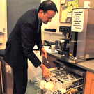 "Leo Varadkar's latest Facebook post sees him standing before the dishwasher in his department under the caption: ""No one gets away without packing the dishwasher around here."""