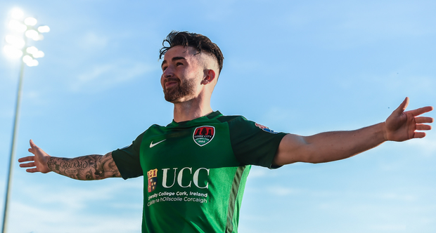 The Sean Maguire story is a true League of Ireland success. Photo: Sportsfile