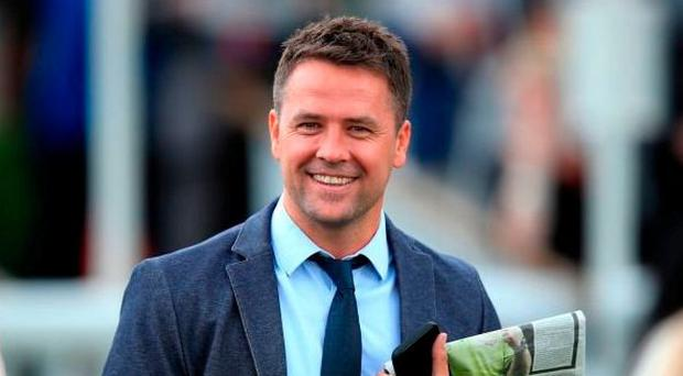 Owner-trainer Michael Owen, who had never sat on a horse until recently, makes his racecourse debut as a jockey in a charity race at Ascot later this month. Photo: Mike Egerton/PA Wire