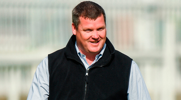 Trainer Gordon Elliott. Photo by Cody Glenn/Sportsfile