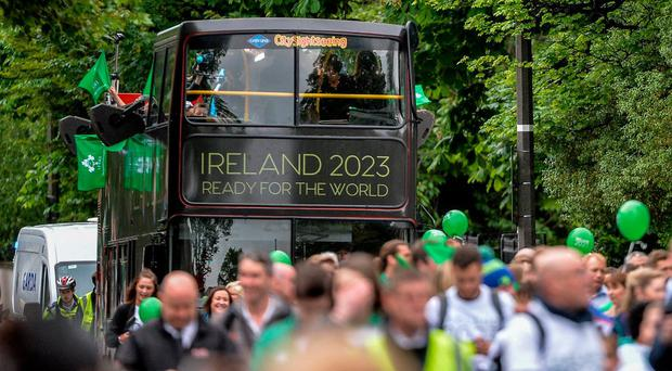 'I'm not saying that the public wouldn't turn out in big numbers for a world cup on our own soil but there's no point pretending Ireland is a kind of northern hemisphere New Zealand'. Photo: Sam Barnes/Sportsfile