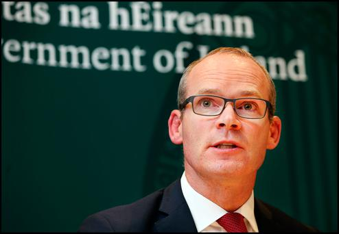 Foreign Affairs Minister Simon Coveney Picture: Steve Humphreys