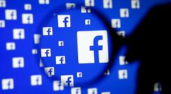 'In case you missed it, Facebook's Q3 revenues amounted to a staggering $10.3bn, a 47pc increase on the comparable figure in 2016.' Stock photo