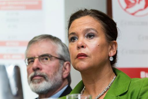 Mary Lou McDonald is among favourites to succeed Gerry Adams. Photo: Colin O'Riordan